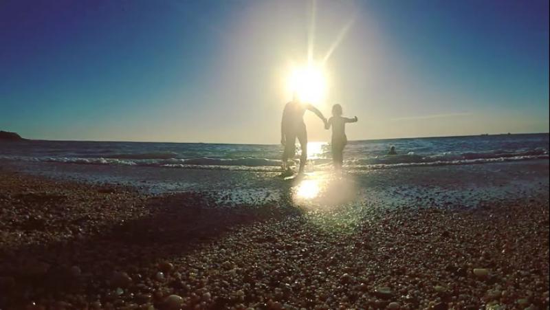 Море...мы скучали) summer sea run fun seashore family daughter море солнце пляж дурачимся доча