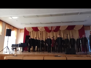 хор Валаамского монастыря в Сортавала