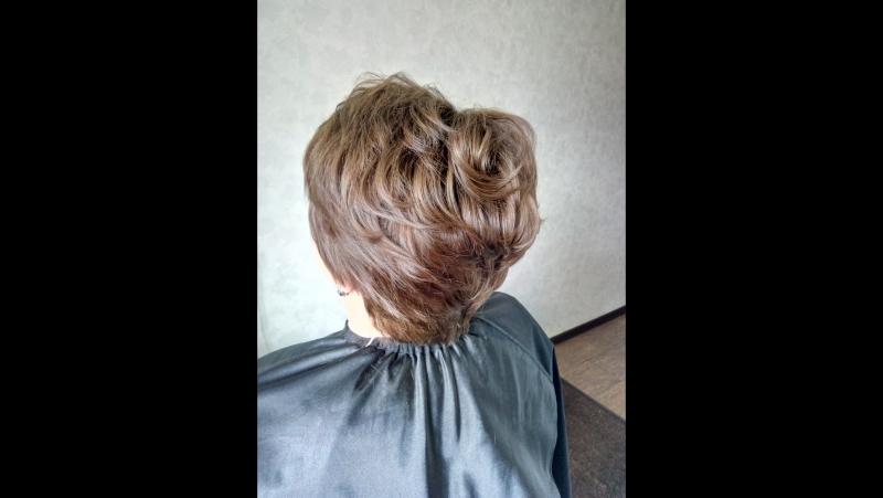 Прикорневой объём VolumeUpLiss, окрашивание волос, стрижка 🌷