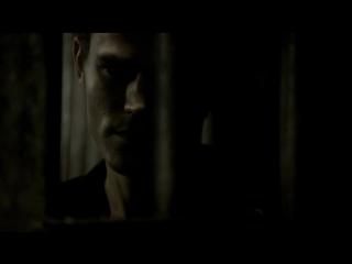 Дневники вампира - 1.05 - Разговор Стефана и Деймона в подвале Озвучка Кубик в кубе
