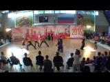 Чемпионат Москвы 2016 B-class. Максим Кичигин и Маргарита Борисова