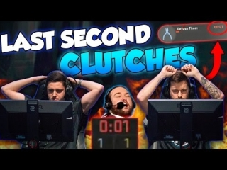 CRAZIEST LAST SECOND CLUTCHES OF ALL TIME! [ft. kennyS, tarik, flusha & More!] #CSGO