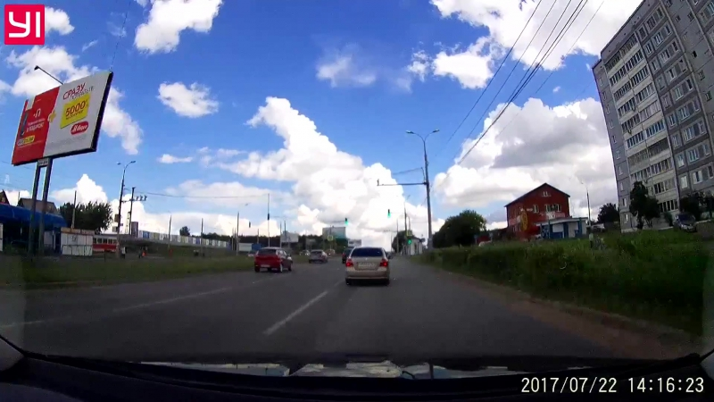 ДТП на светофоре 22.07.2017