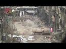 Вылетевшая из-за угла сирийская БМП-2 метко отстрелялась по боевикам