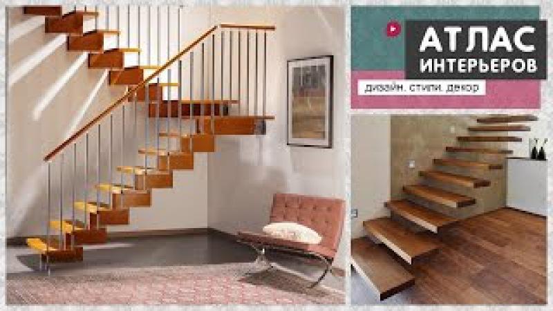 Лестница на второй этаж в частном доме или квартире. Идеи дизайна.
