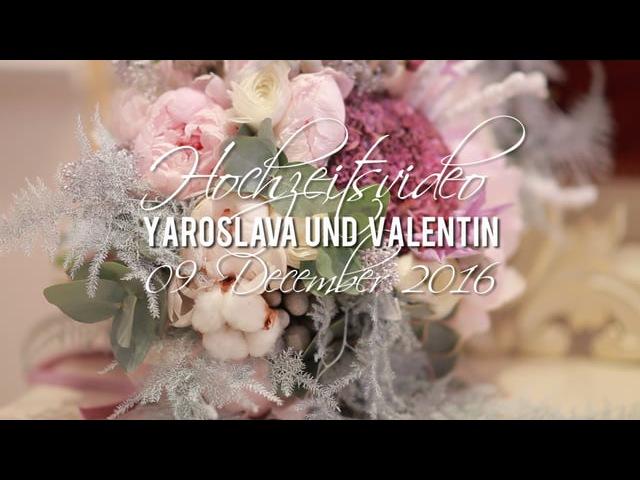 Hochzeitsvideo Yaroslava und Valentin