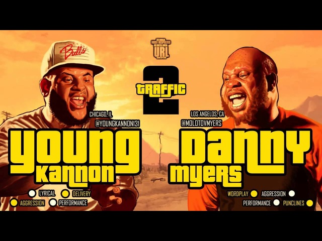 DANNY MYERS VS YOUNG KANNON SMACK/ URL