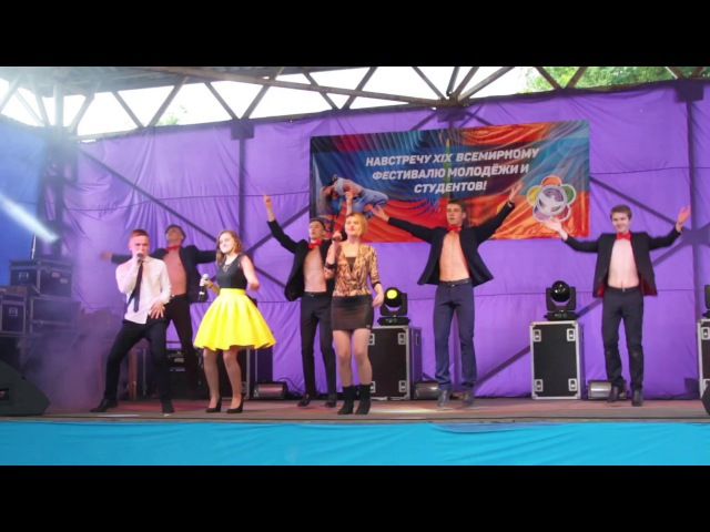 Анастасия Сумеркина, Виталий Майоров, Наталья Кузнецова - Boys (Sabrina cover))