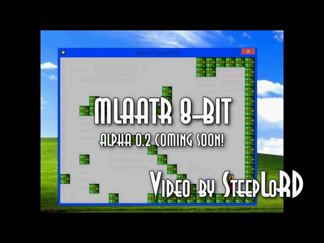 MLAATR 8-bit. Test 2