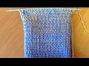 Как связать красивый, плавный Градиент / Плавная замена нити на вязаном изделии