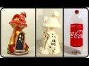 ❣DIY Mushroom Fairy House Lamp Using Coke Plastic Bottle❣