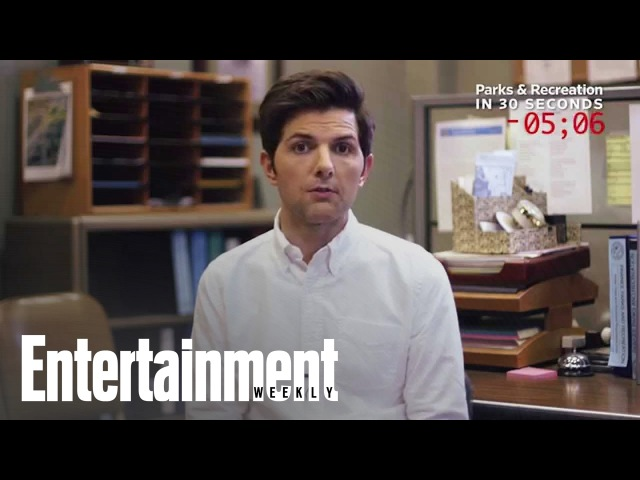 Parks And Rec: Adam Scott Explains The Show In 30 Seconds | Entertainment Weekly