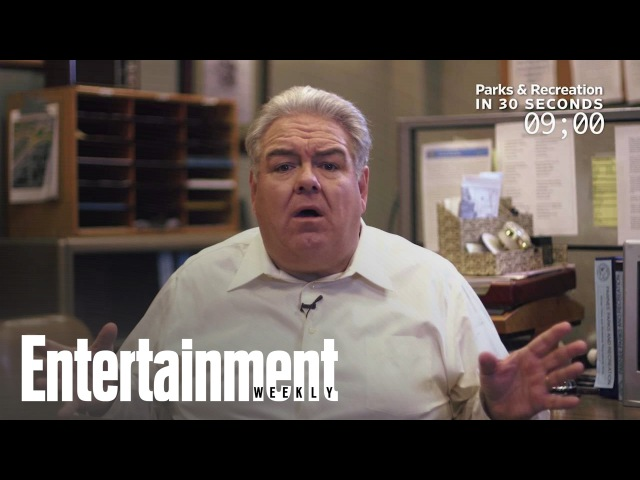 Jim O'Heir Explains 'Parks And Rec' In 30 Seconds | Entertainment Weekly