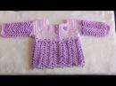 Chambrita a crochet para bebe 1