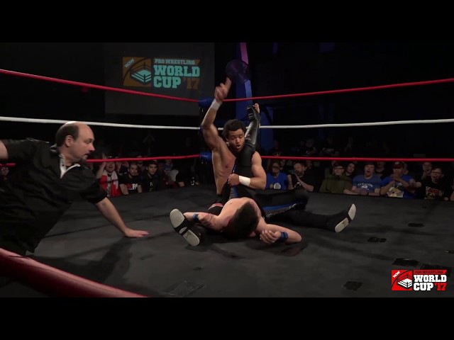 Mike Bailey vs Brent Banks (Pro Wrestling World Cup Canada - 1st Round)