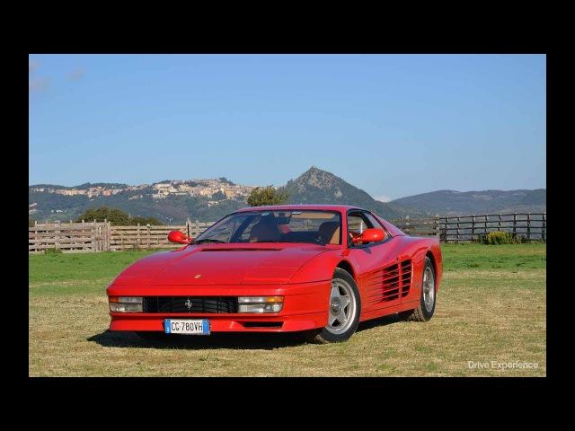 1984 Ferrari Testarossa Драйверские опыты Давида Чирони