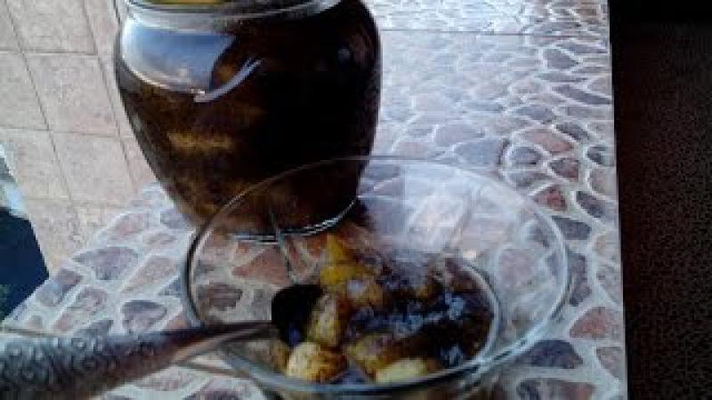 Грушевое варенье с маком, Pear jam with poppyseed