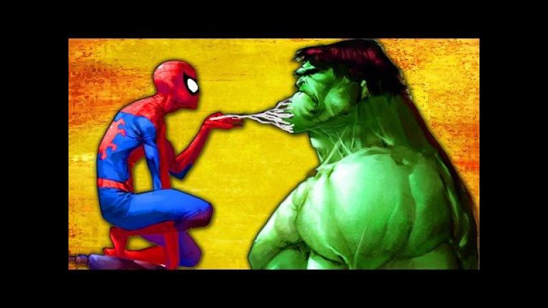 Finger Family | Spiderman Vs Hulk Cartoon Finger Family Nursey Rhymes Kids Songs Lyrics