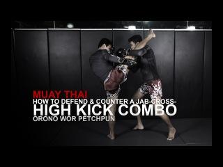 Muay Thai: 3 Head Kick Counterattacks | Evolve University muay thai: 3 head kick counterattacks | evolve university