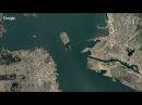 Мост Окденд Бэй Бридж в Сан Франциско Калифорния США vjcn jrltyl 'q hbl d cfy ahfywbcrj rfkbajhybz cif
