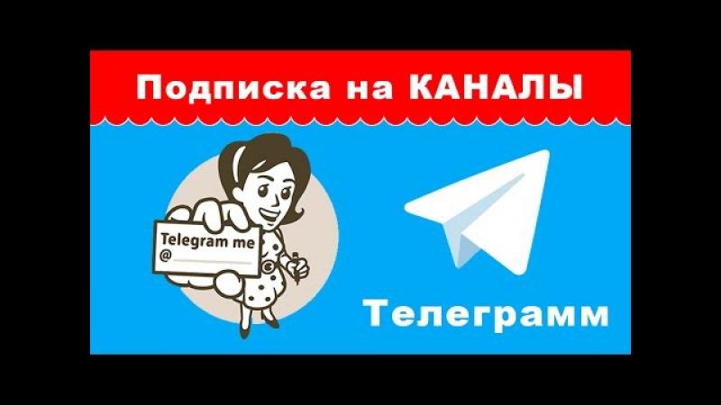 Как подписаться на Telegram канал?   Уроки по настройке Телеграмм
