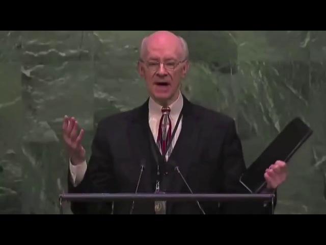 Евангелист воскрес из мёртвых. Свидетельство в ООН