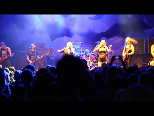 Battle Beast with guest vocals by Elina Siirala-Beyond the burning skies