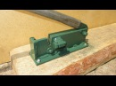 Самодельный станок для рубки проволоки и прутков