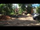 Комплексное благоустройство дворов по 12 адресам на пике работ