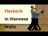 Natural and Reverse Fleckerls in Viennese Waltz Ballroom Dance