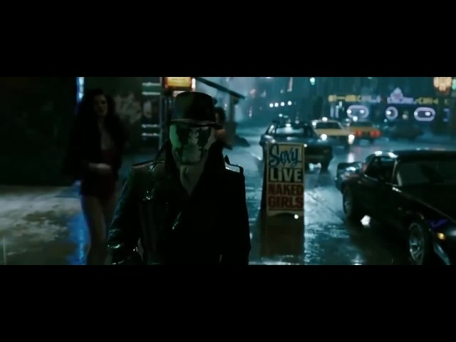 Rorschach's Journal - Such a lonely day