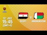 Egypt v Madagascar - Live - FIBA U16 African Championship 2017