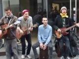 Крутяяяк! Зажигательный регги от уличных музыкантов Копенгагена.