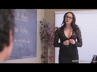 Chanel Preston - Free-For-All Fuck Lessons (Brazzers / BigTitsAtSchool ) - [2017, Gonzo, GangBang, DP, DAP, MILF, Teacher]