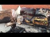 Пожар на мебельной фабрике