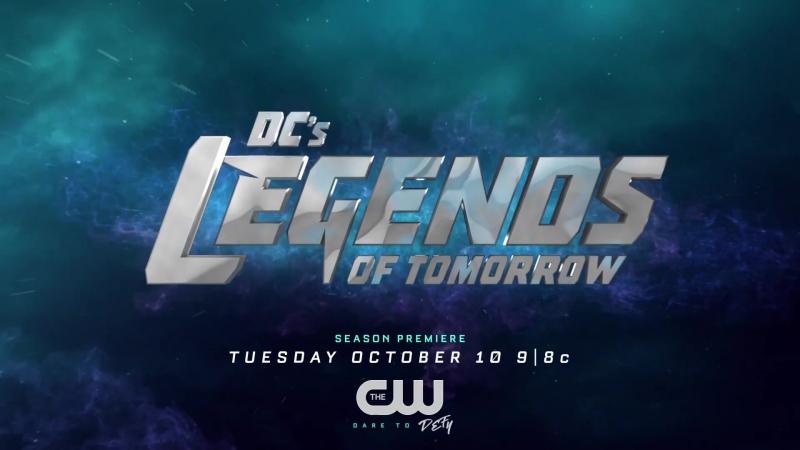 Легенды завтрашнего дня Трейлер с Comic-Con (сезон 3)