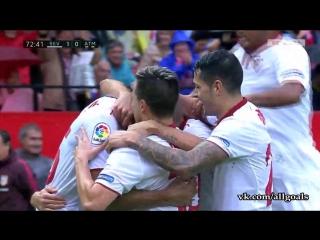Севилья 1-0 Атлетико / гол Н'зонзи