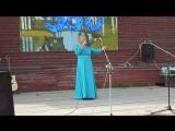 Любовь Тихомирова на Юбилее села Ивачино - 2017