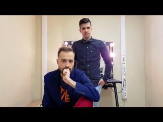 Руслан Усачев и Михаил Кшиштовский в