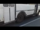 Задымилась маршрутка в Челябинске, 20.07.17