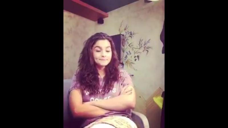 Love Your Zindagi like @aliaa08 loves hers Stay tuned to sing along with Alia on LoveYouZindagi OutSoon