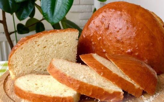 Домашний хлеб на кислом молоке