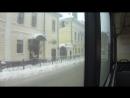 Поездка на троллейбусе ВМЗ-5298.01 Авангард от улицы Татарстан до Ж/д вокзала.Часть 3-я