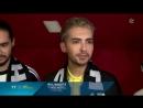15.03.2017 - SAT.1 Regional - Interview with Tokio Hotel (Hamburg)