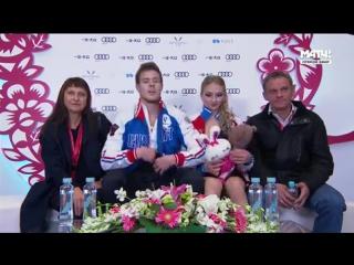Гран-При Китая. Танцы на льду. Короткая программа. Виктория Синицина/ Никита Кацалапов
