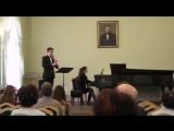 К.Сен-Санс Соната для Кларнета и Фортепиано