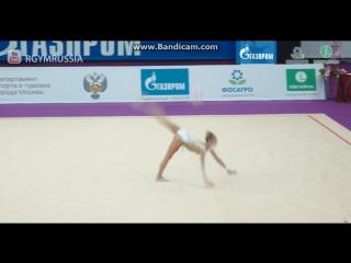 Александра Солдатова мяч (финал) - Гран-При Москва 2017