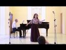 Полина Перовская - Дж. Верди «Песенка Оскара» из оперы «Бал-маскарад»