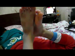 Asian boy feet