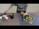 Как сделать букет из японских гвоздик